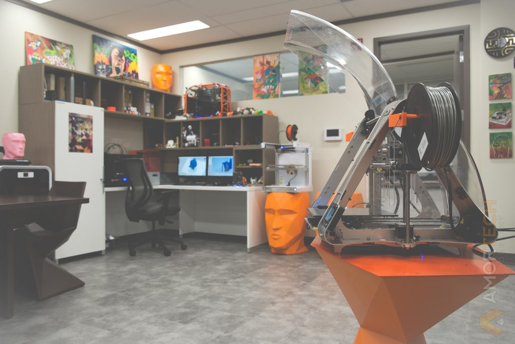 Amortech Design Labs Marketing Agency and 3D Printers Calgary