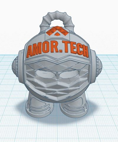 Custom Branded Amortech 3D Marvin Model